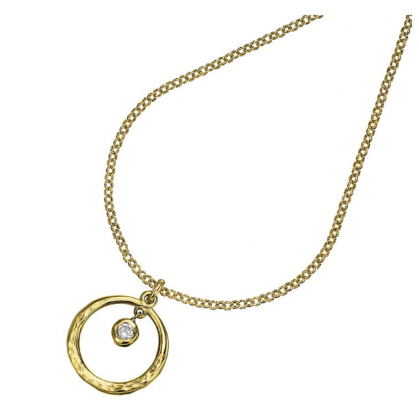 Yellow Gold Dewdrop Pendant