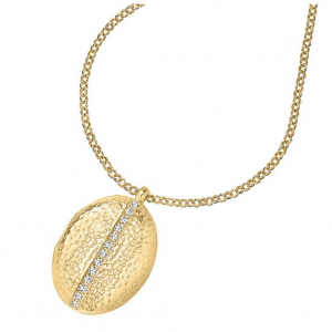 Yellow Gold Vermeil Oval Lumiere Locket