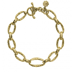 Yellow Gold Vermeil - Sterling Silver Oval Link Nomad Bracelet