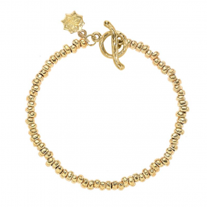 Yellow Gold Vermeil - Small Nugget Nomad Bracelet